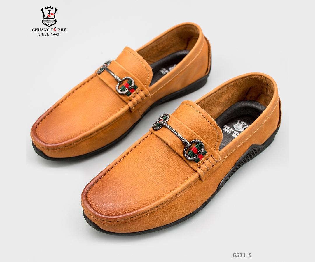 休闲皮鞋-6571-5