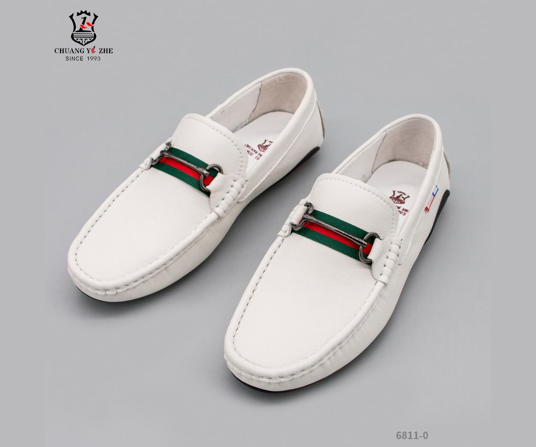 休闲皮鞋-6811-0