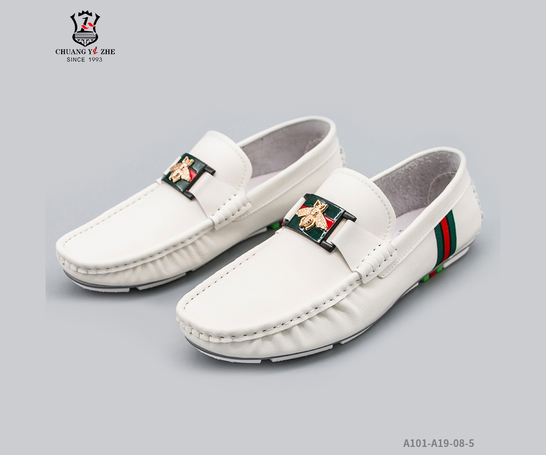 休闲皮鞋-a19-08-5