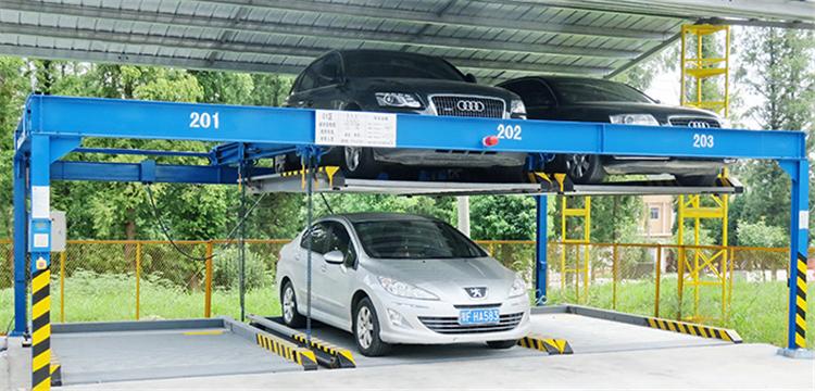 PSHL-2智能升降橫移式整體車庫 PSHL-2 Intelligent Lifting and Traverse Moving Integral Garage