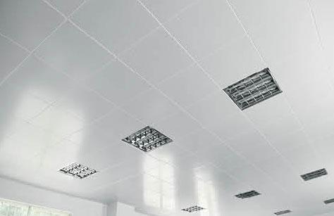 工程鋁扣板,平板 對角 全孔 辦公室/車間/廠房吊頂