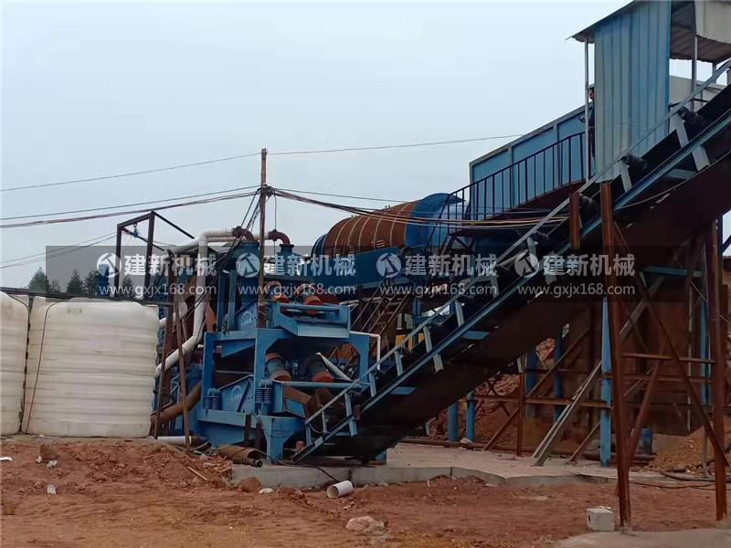 制砂洗沙生产线安装