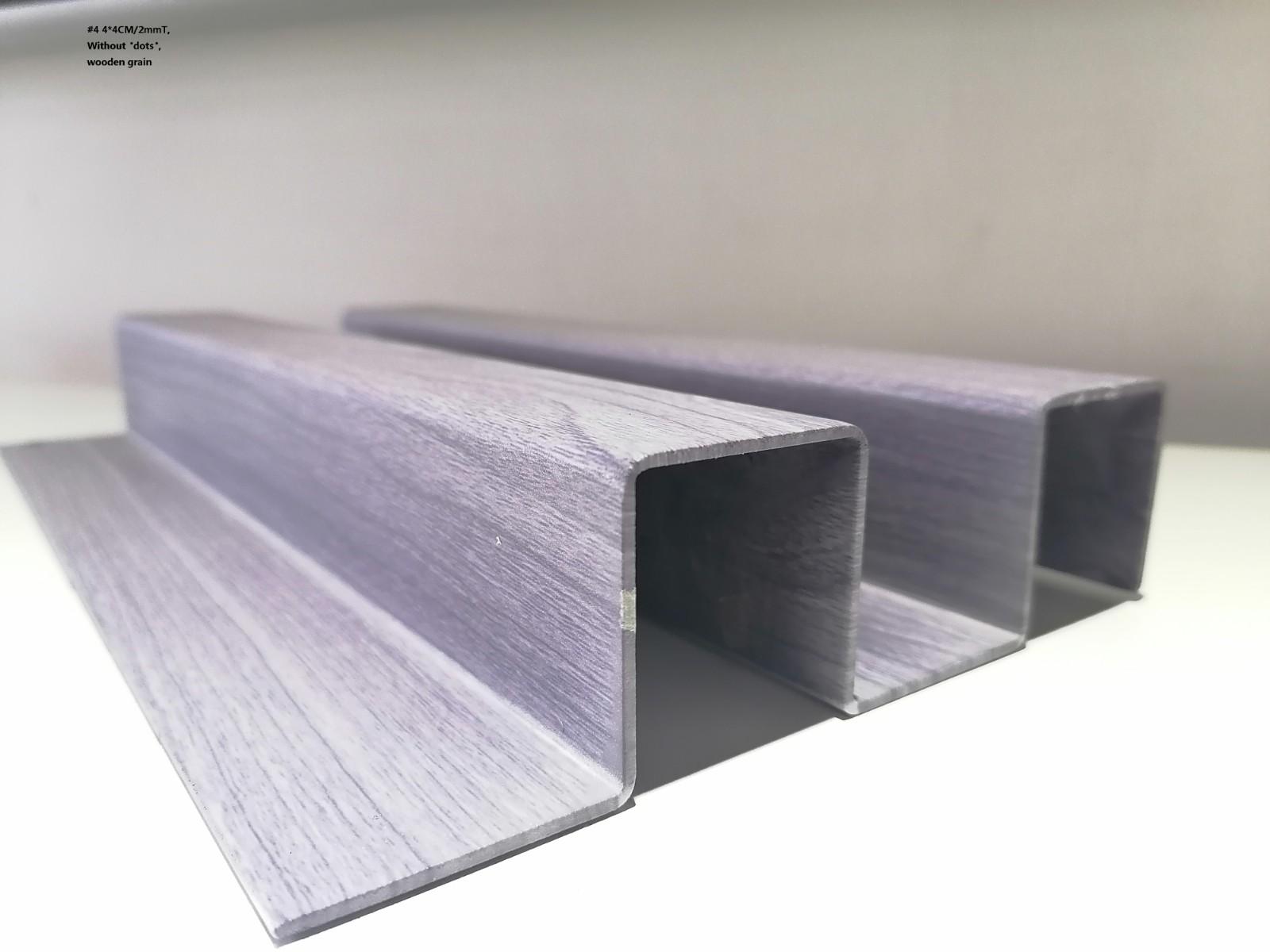 墙面木纹凹凸长城铝单板