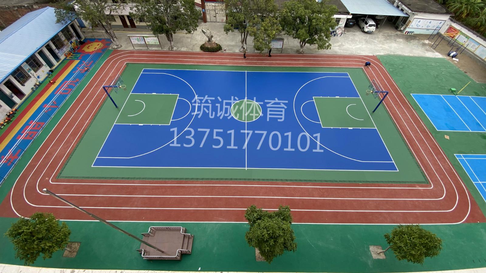 广西刚德小学改造运动场工程