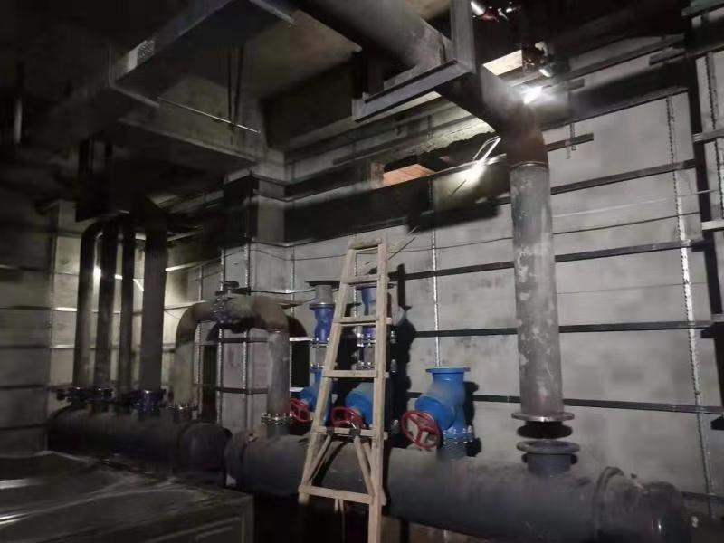 可再生能源地源热泵中央空调施工