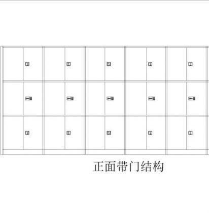 MK-DAG0318帶門檔案柜(29850元/組)