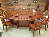 3.6米木质电动餐桌