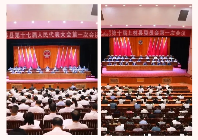 """理通保安圆满完成上林县""""两会""""安保服务工作"""