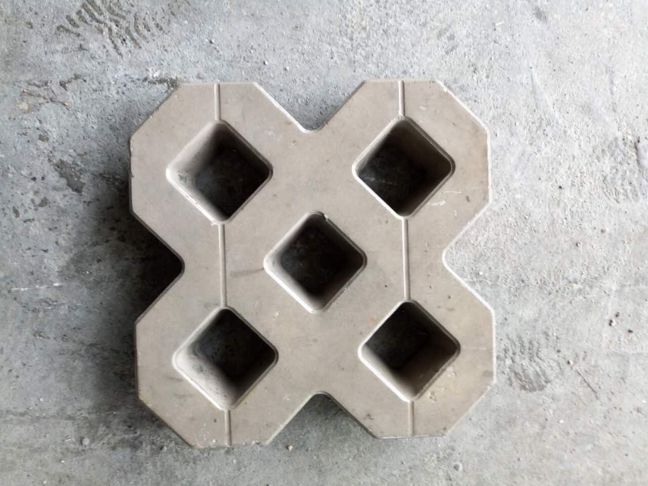 双8字植草砖